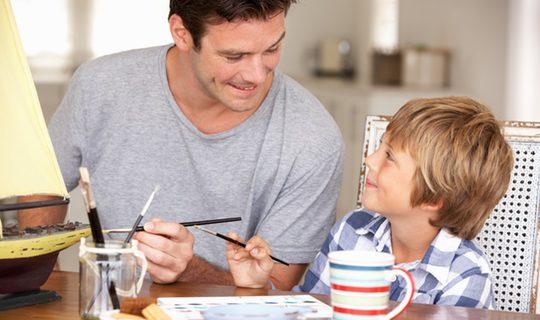 Manualidades fáciles para el Día del Padre