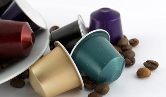 Cápsulas de café reutilizables para manualidades
