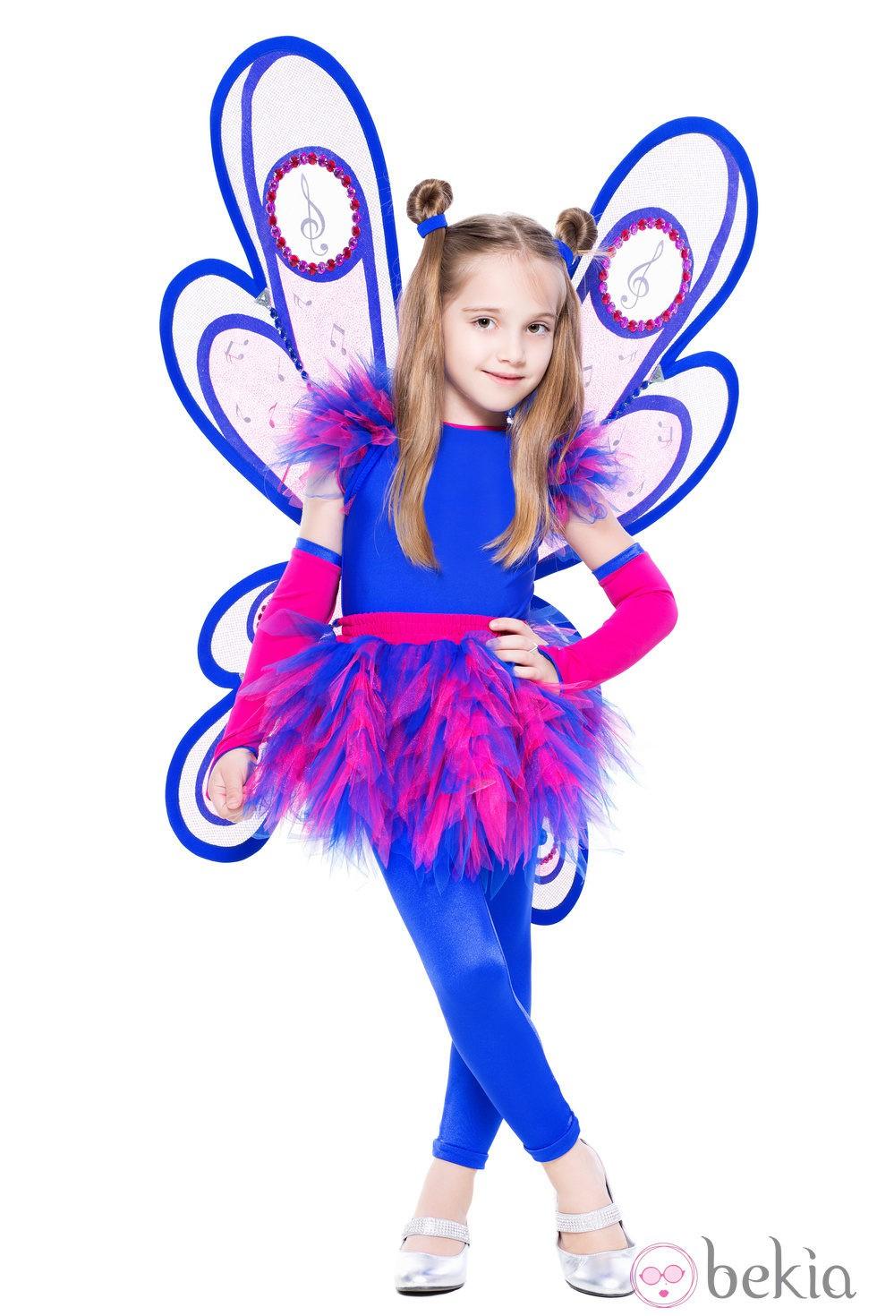 Disfraz de mariposa para niña: Disfraces de niños para Halloween ...